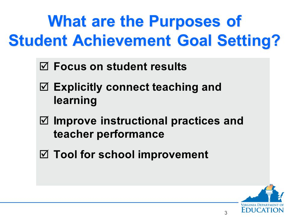 Steps 1 and 2: Determining Needs and Creating Goals
