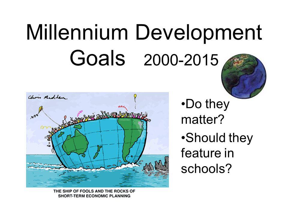 Millennium Development Goals 2000-2015