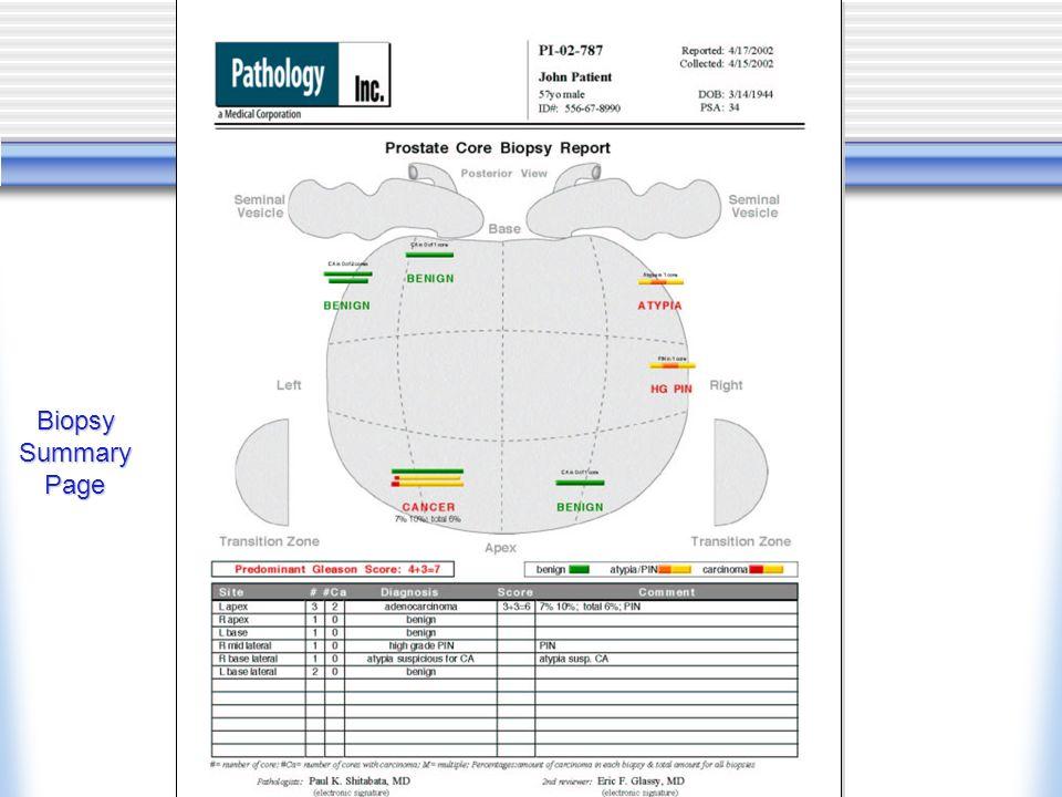 Biopsy Summary Page