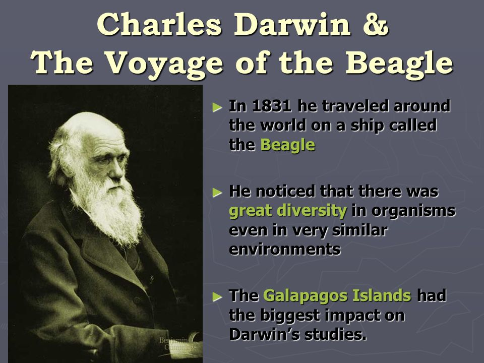 Charles Darwin & The Voyage of the Beagle