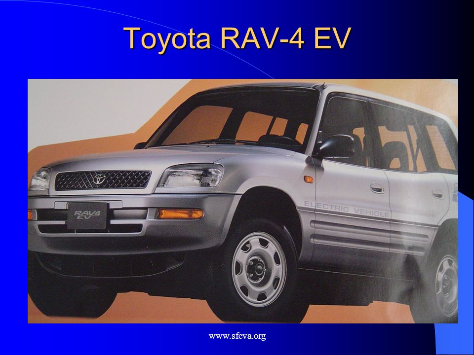 Toyota RAV-4 EV www.sfeva.org