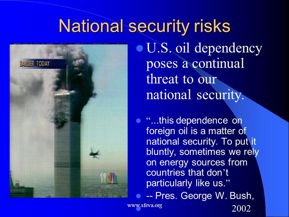 National security risks