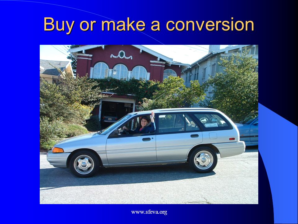 Buy or make a conversion