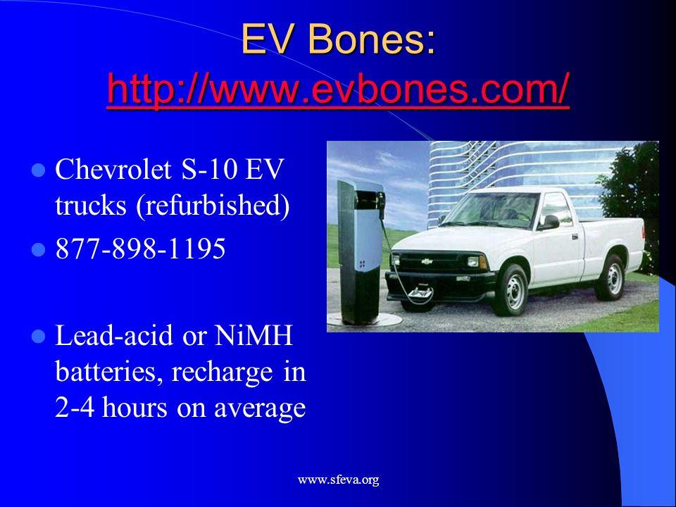 EV Bones: http://www.evbones.com/