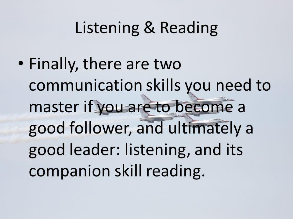 Listening & Reading