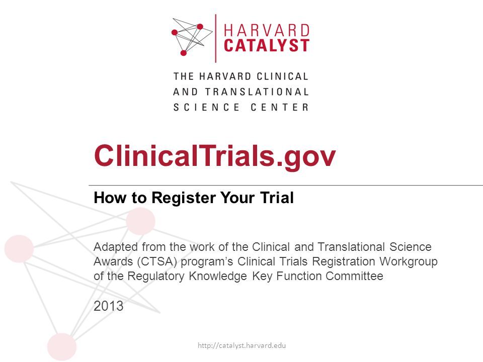 How to Register Your Trial