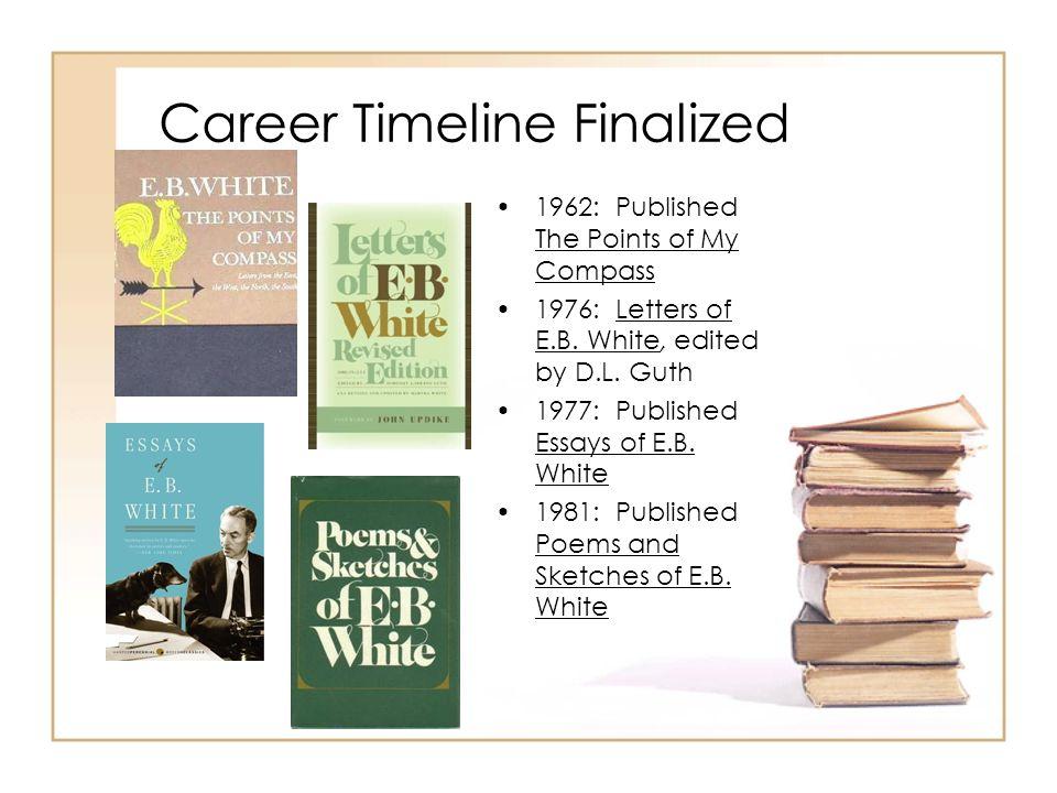 Career Timeline Finalized