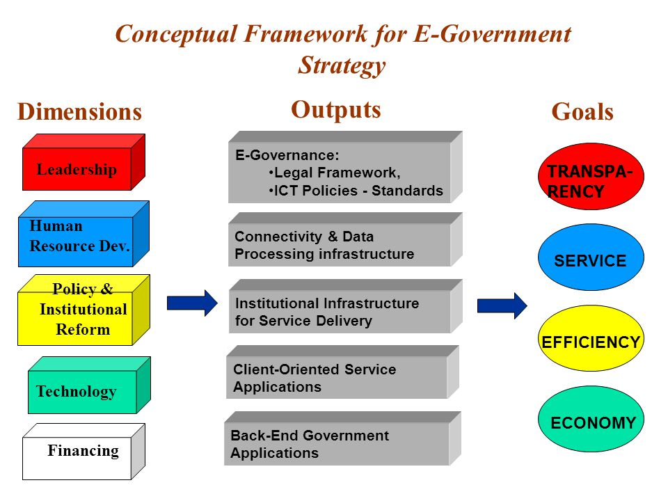 Conceptual Framework for E-Government Strategy
