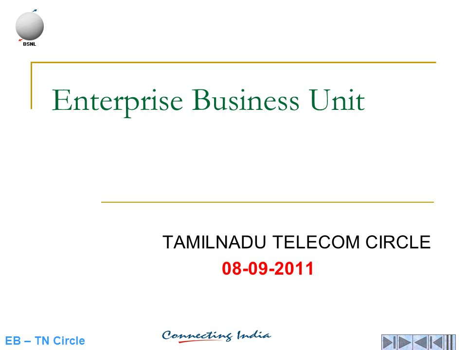 Enterprise Business Unit