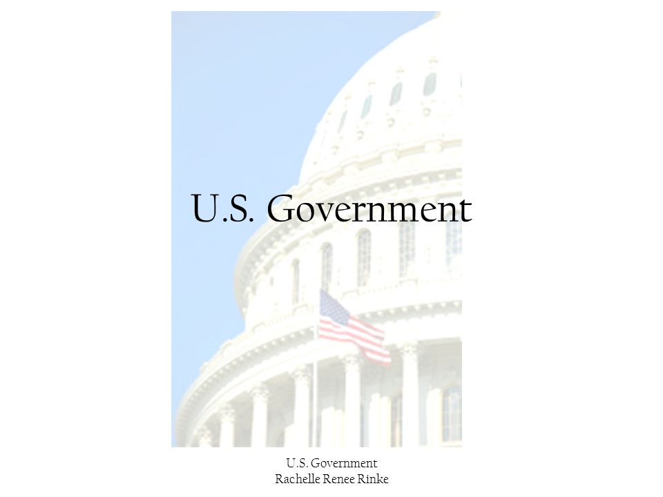 U.S. Government U.S. Government Rachelle Renee Rinke