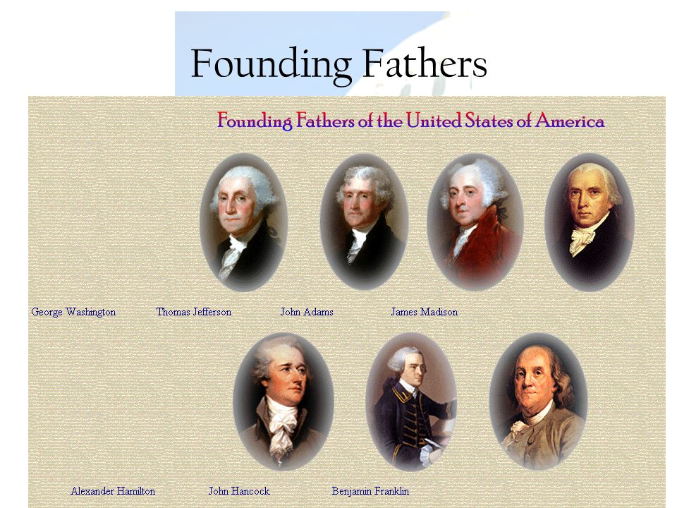 Founding Fathers U.S. Government Rachelle Renee Rinke