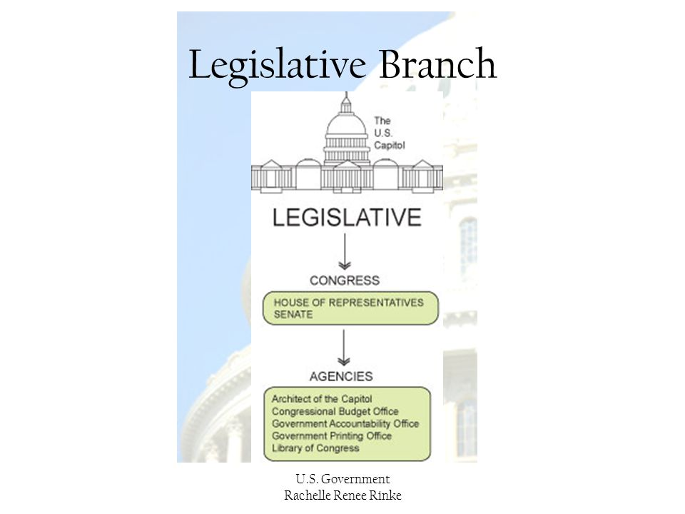 Legislative Branch U.S. Government Rachelle Renee Rinke
