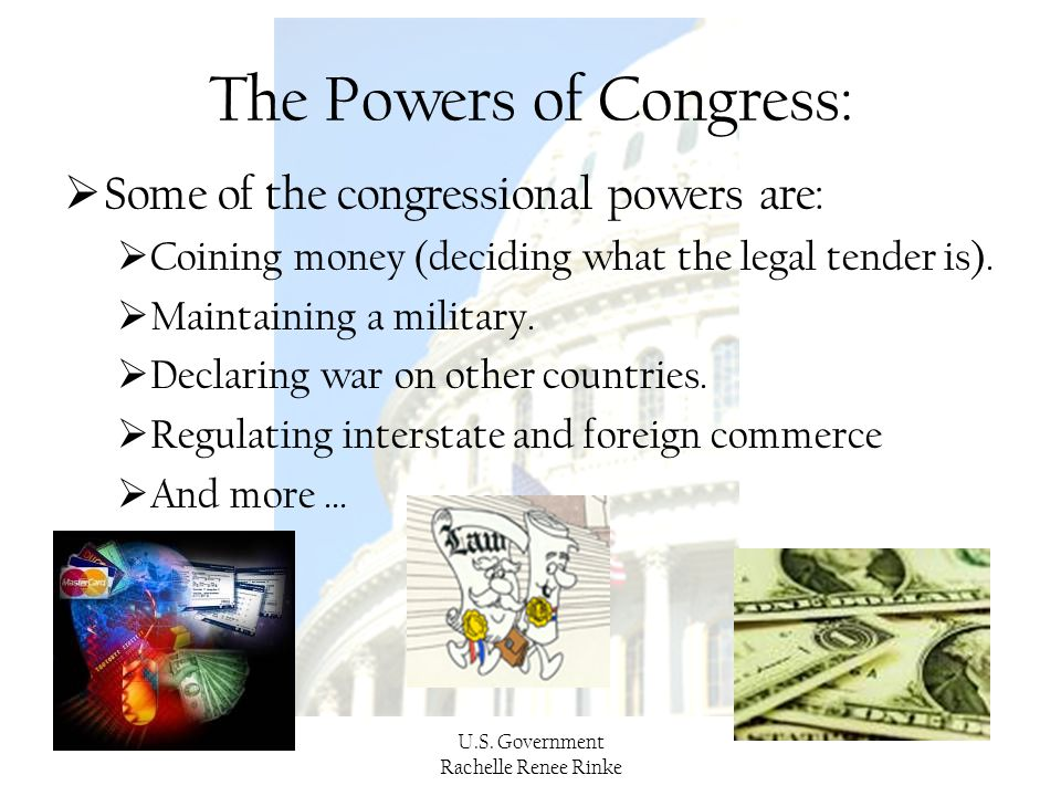 The Powers of Congress: