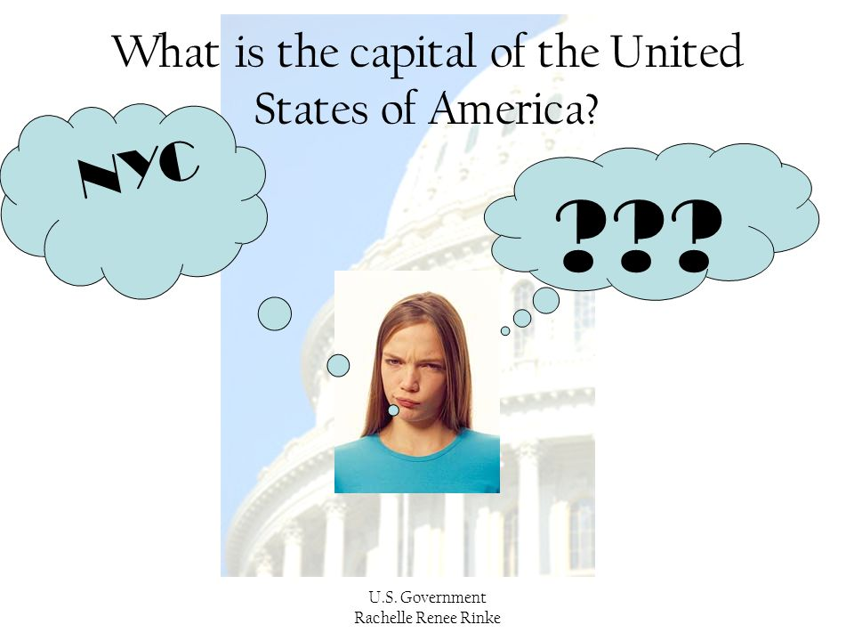 What is the capital of the United States of America
