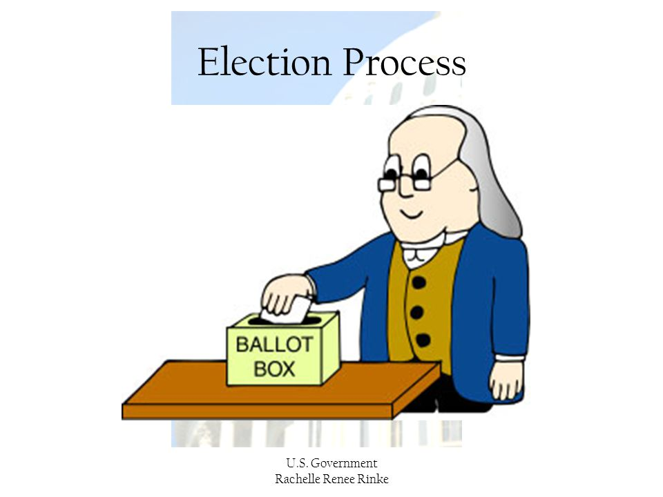 Election Process U.S. Government Rachelle Renee Rinke