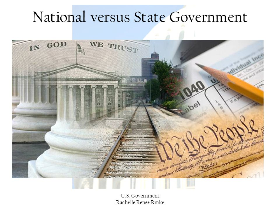 National versus State Government