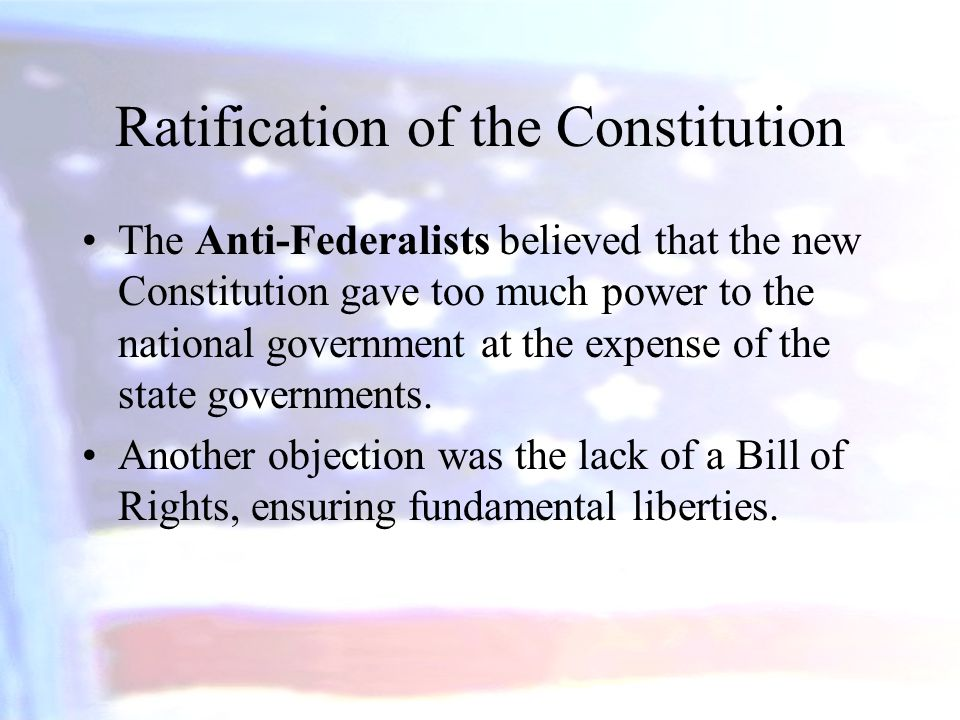 ratification of the constitution essay From the very beginning till the very end, madison was the most affluently impassioned person pushing for the ratification of the constitution, stressing.