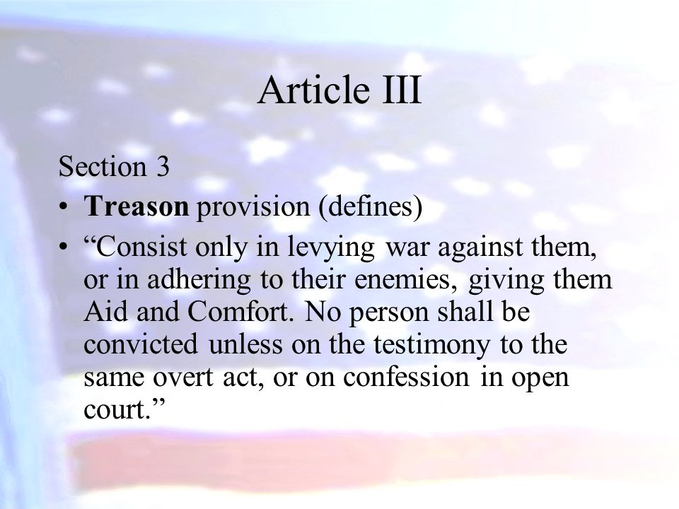 clause 3 of section 2 article 1 defines what act of government