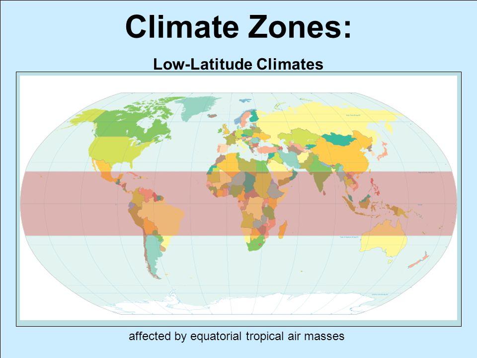Low-Latitude Climates