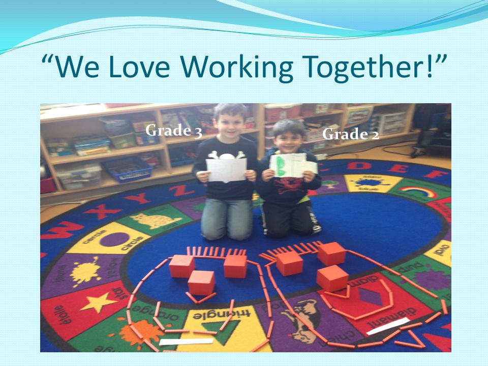 We Love Working Together!