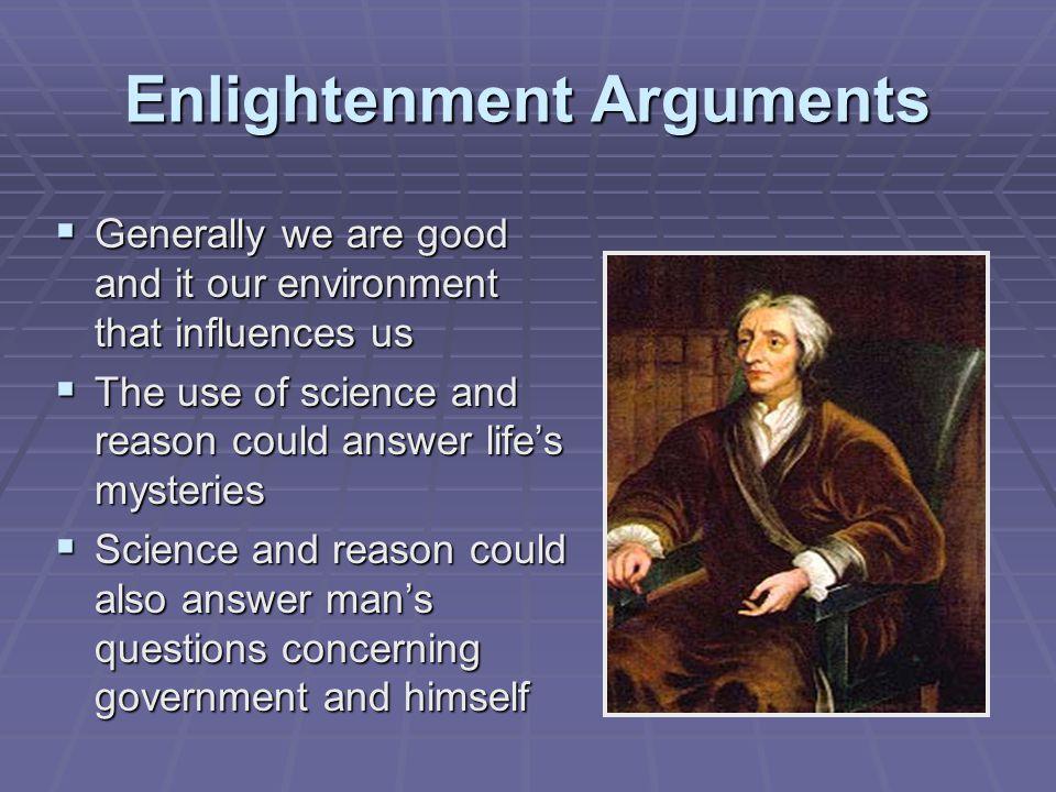 Enlightenment Arguments