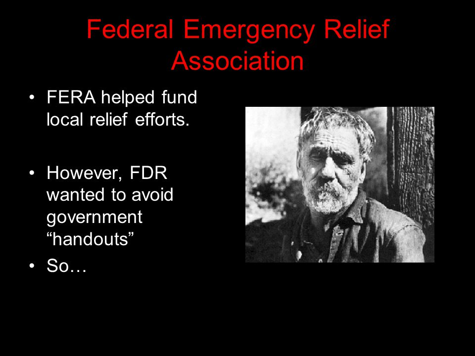 Federal Emergency Relief Association