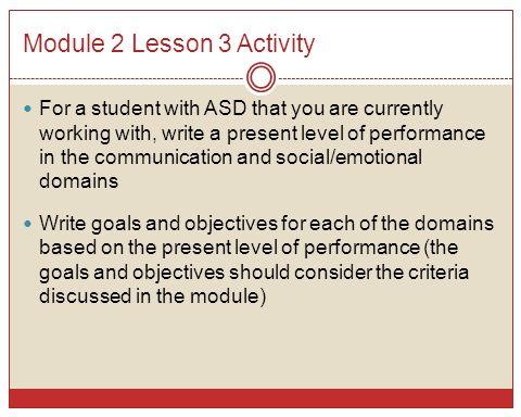 Module 2 Lesson 3 Activity