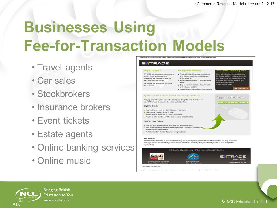 Businesses Using Fee-for-Transaction Models