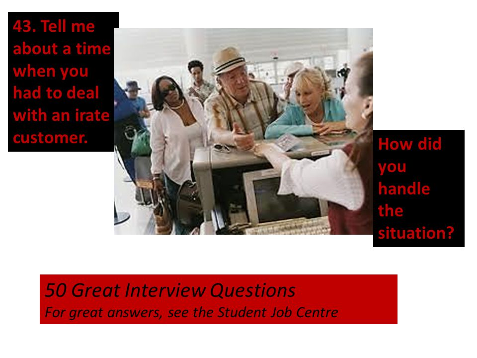 50 Great Interview Questions
