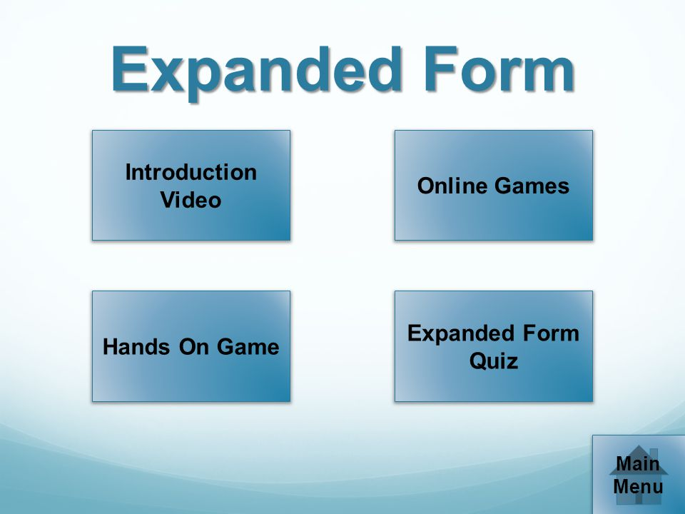 Expanded Form Introduction Video Online Games Expanded Form