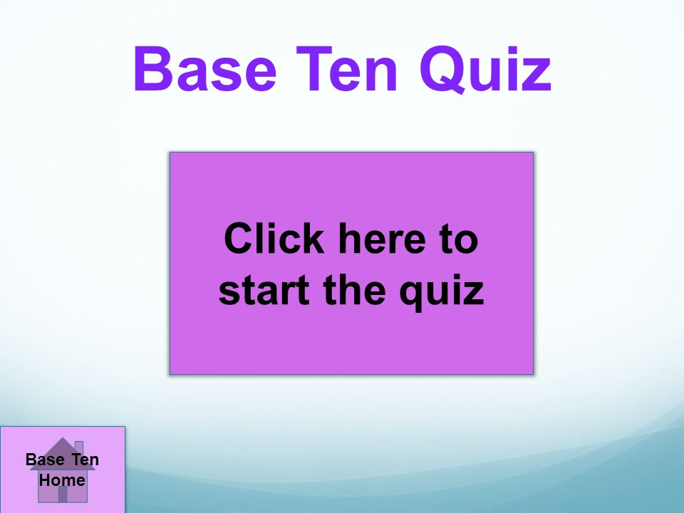 Click here to start the quiz