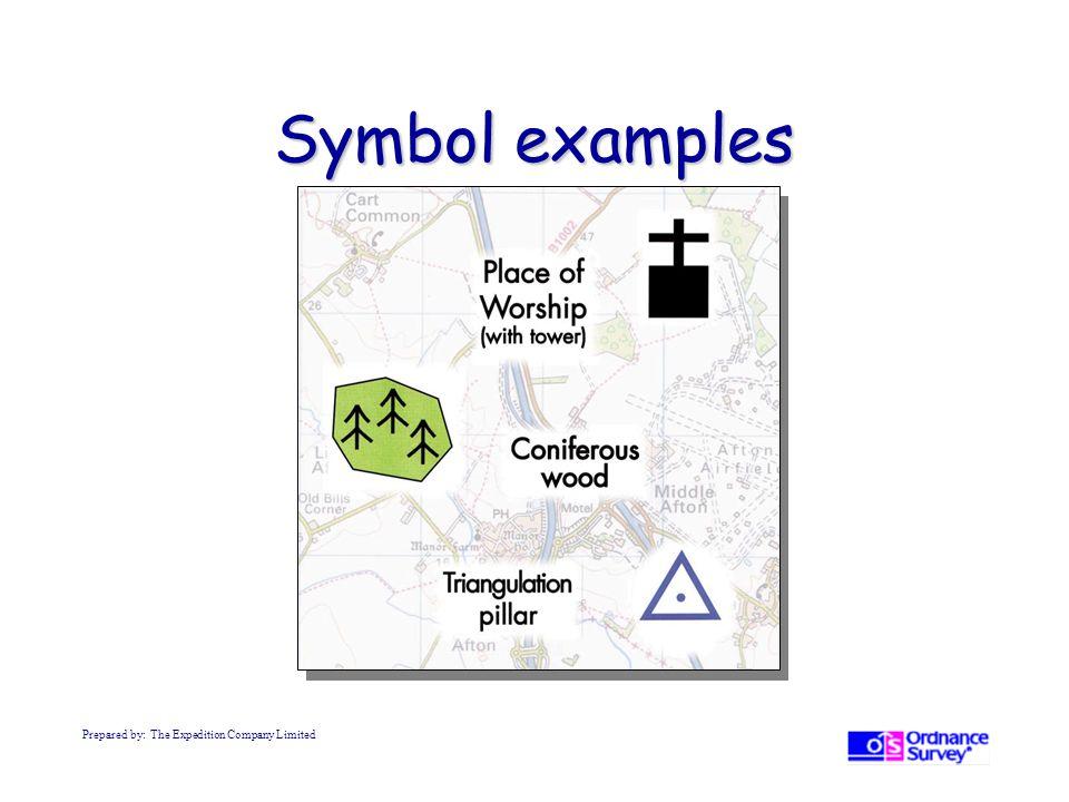 Symbol examples Prepared by: The Expedition Company Limited