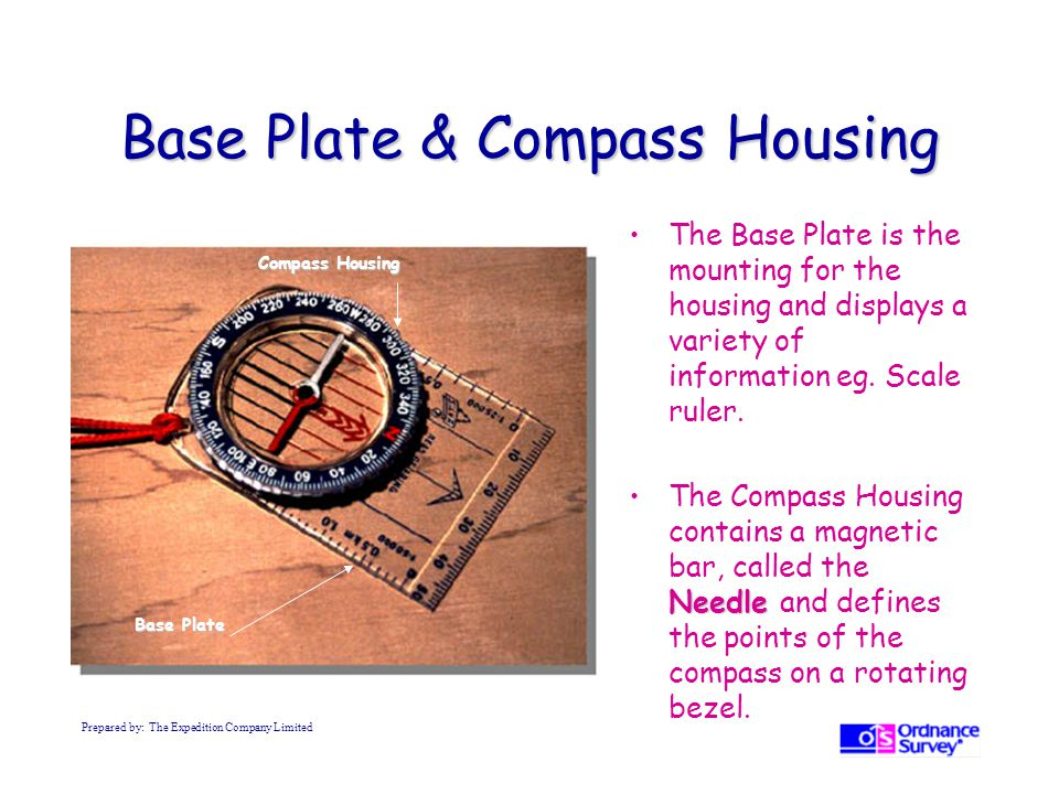 Base Plate & Compass Housing