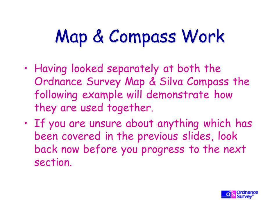 Map & Compass Work