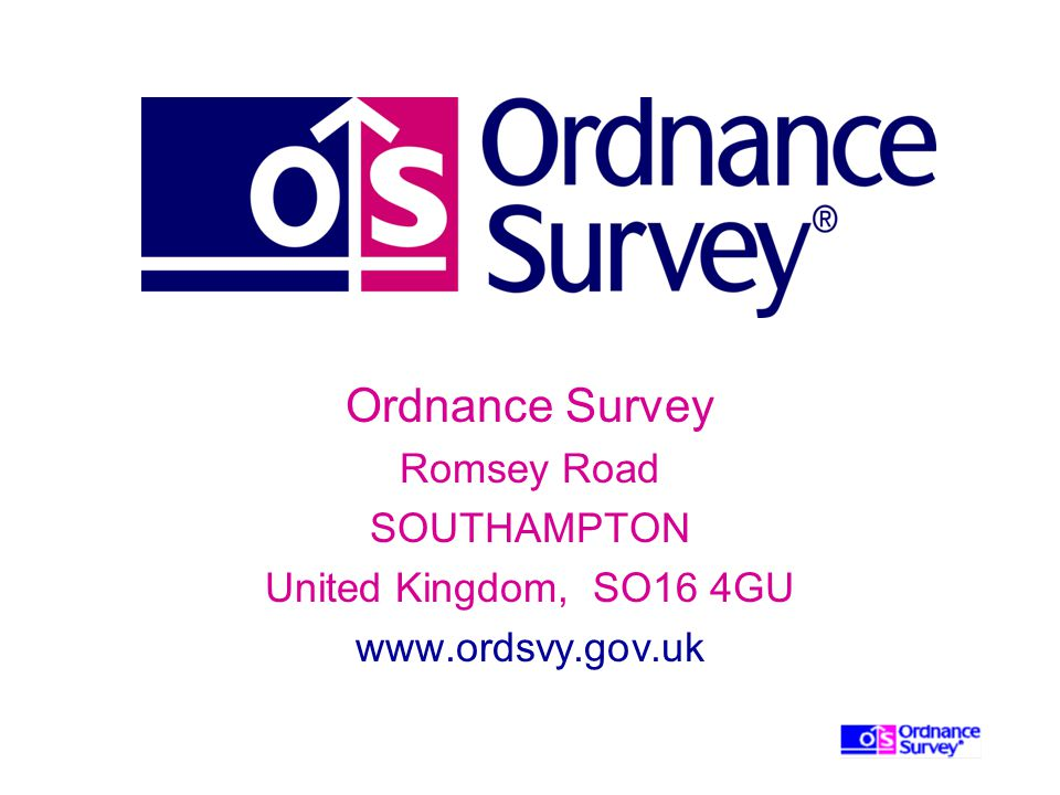 Ordnance Survey Romsey Road SOUTHAMPTON United Kingdom, SO16 4GU