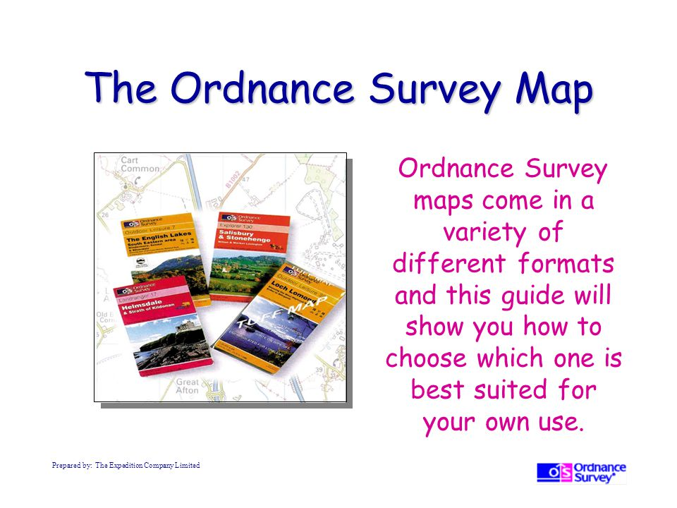 The Ordnance Survey Map