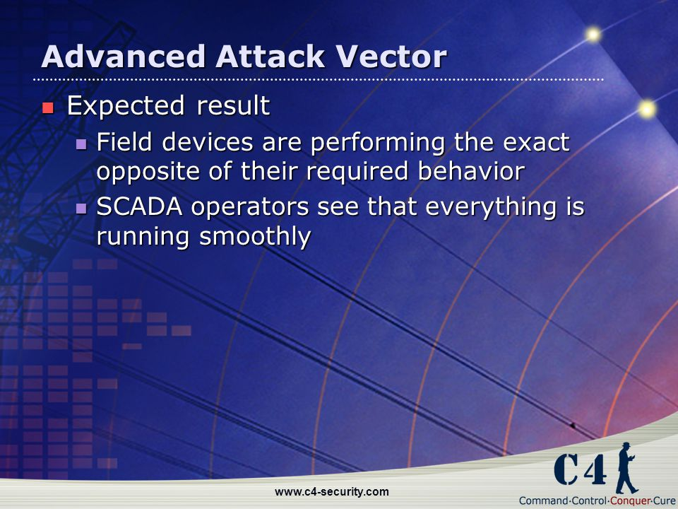 Advanced Attack Vector