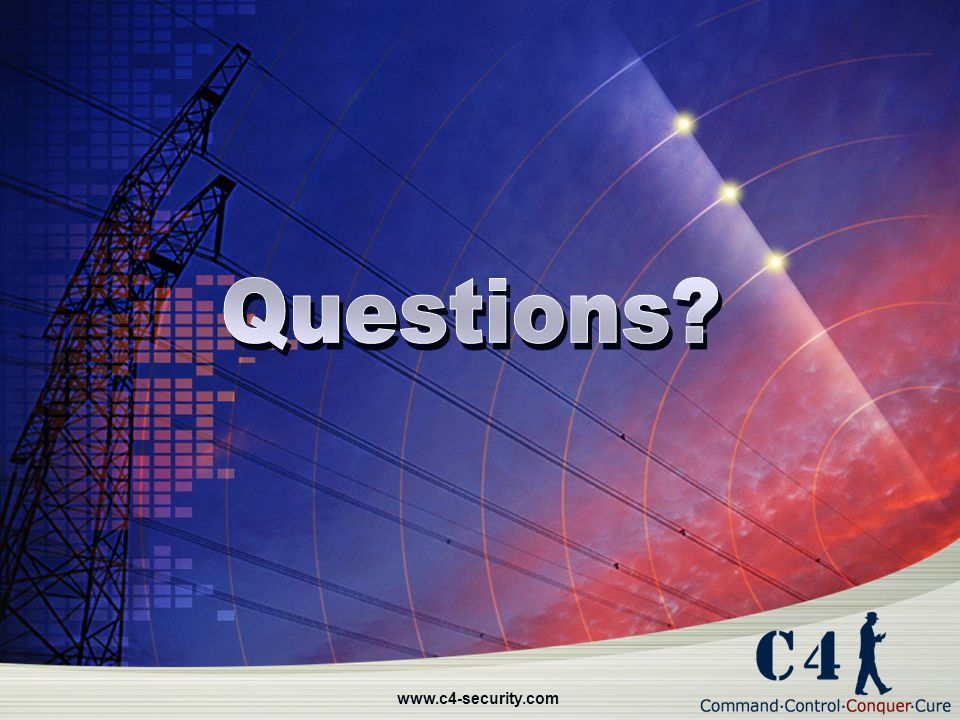 Questions www.c4-security.com