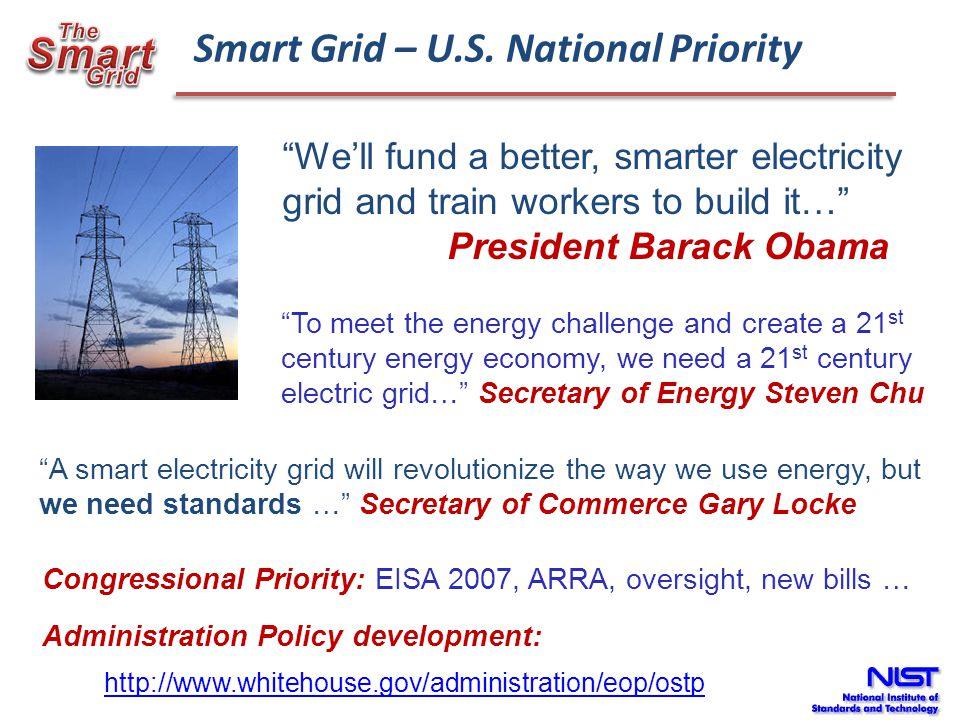 Smart Grid – U.S. National Priority