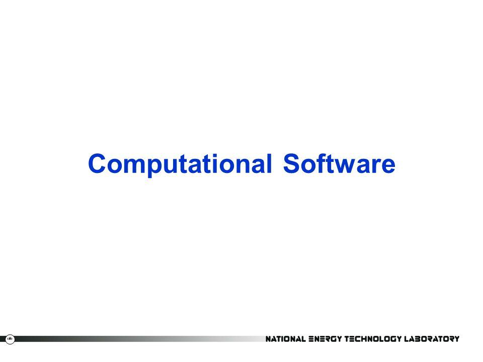 Computational Software