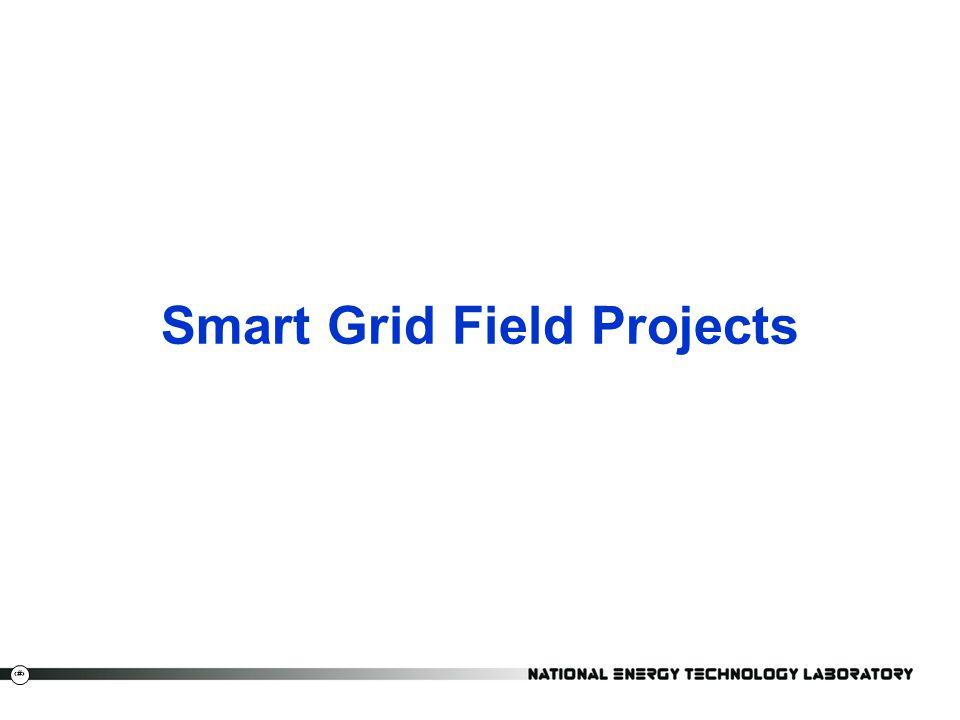Smart Grid Field Projects