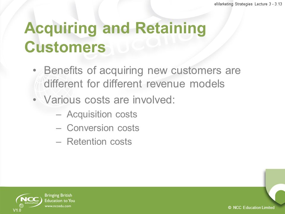 Acquiring and Retaining Customers