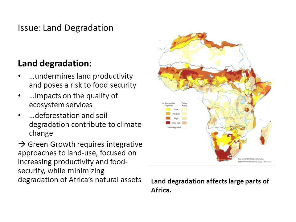 Issue: Land Degradation