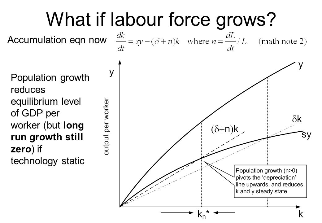 What if labour force grows
