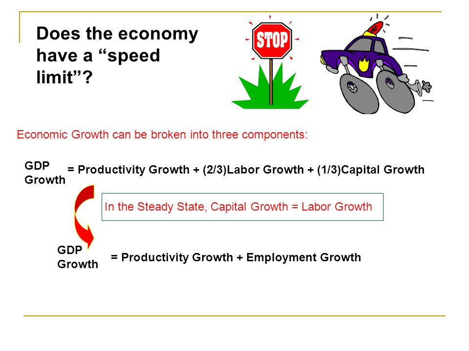 Does the economy have a speed limit