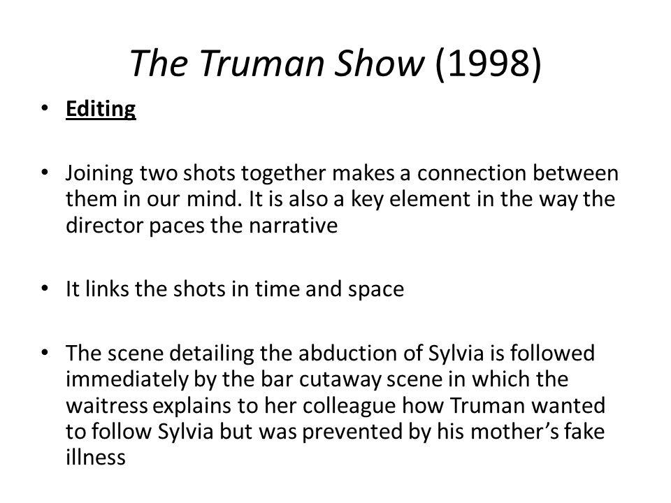 The Truman Show (1998) Editing