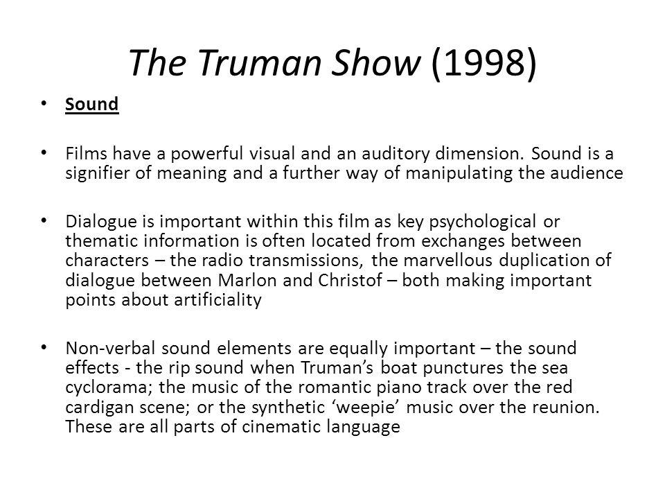 The Truman Show (1998) Sound