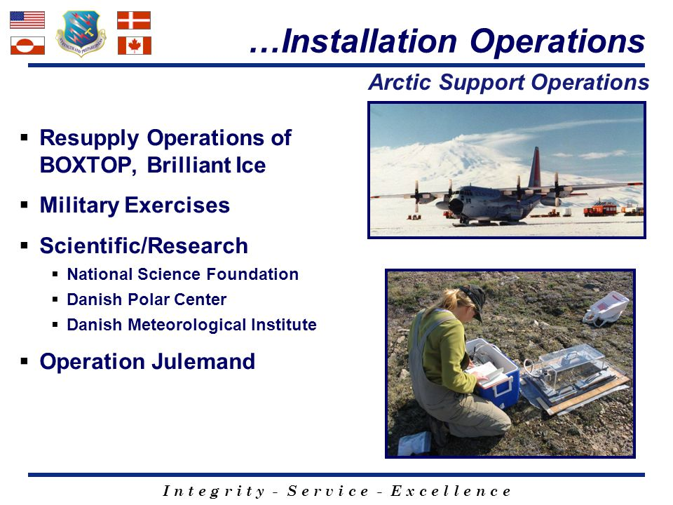 Arctic Support Operations