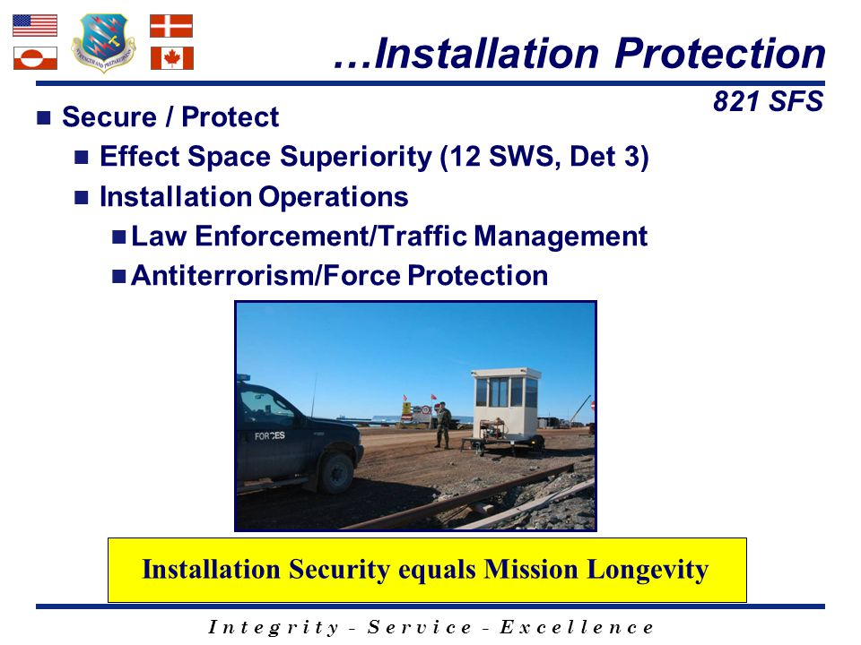Installation Security equals Mission Longevity