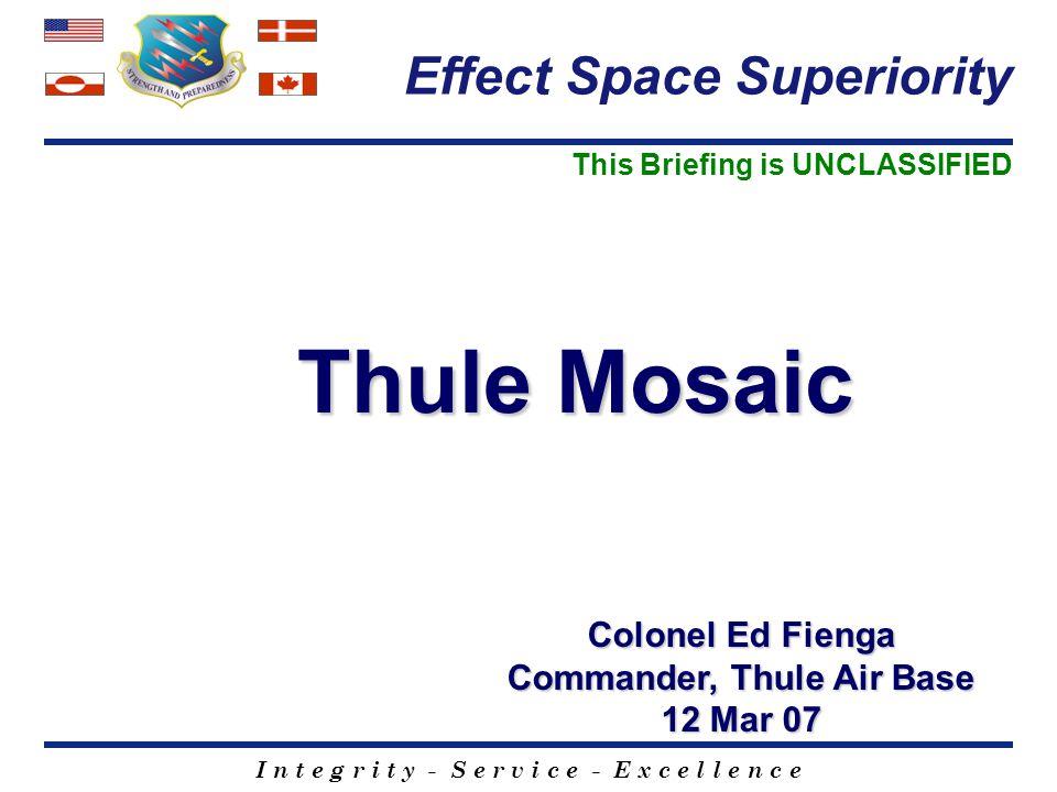 Commander, Thule Air Base